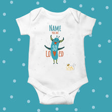 Load image into Gallery viewer, Babygrow - (Personalised) Monsters