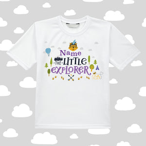 Kids T-Shirt (Personalised) -Explorer