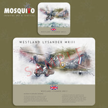 Load image into Gallery viewer, Coaster & Placemat Set - Westland Lysander