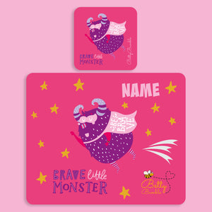 Placemat & Coaster Set - Monster