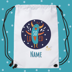 Drawstring / PE Bag - (Personalised) Monsters