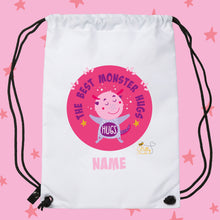Load image into Gallery viewer, Drawstring / PE Bag - (Personalised) Monsters