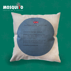 Cushion Cover - Supermarine Spitfire