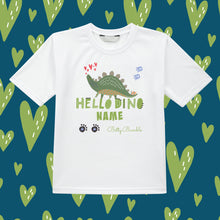 Load image into Gallery viewer, Kids T-Shirt (Personalised) - Dinosaur