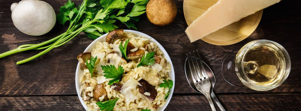 Bone broth recipe | mushroom risotto