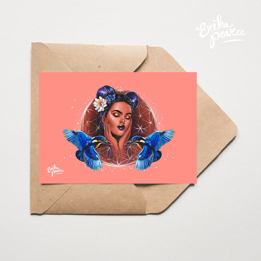 Queen Of Kings Greeting Card