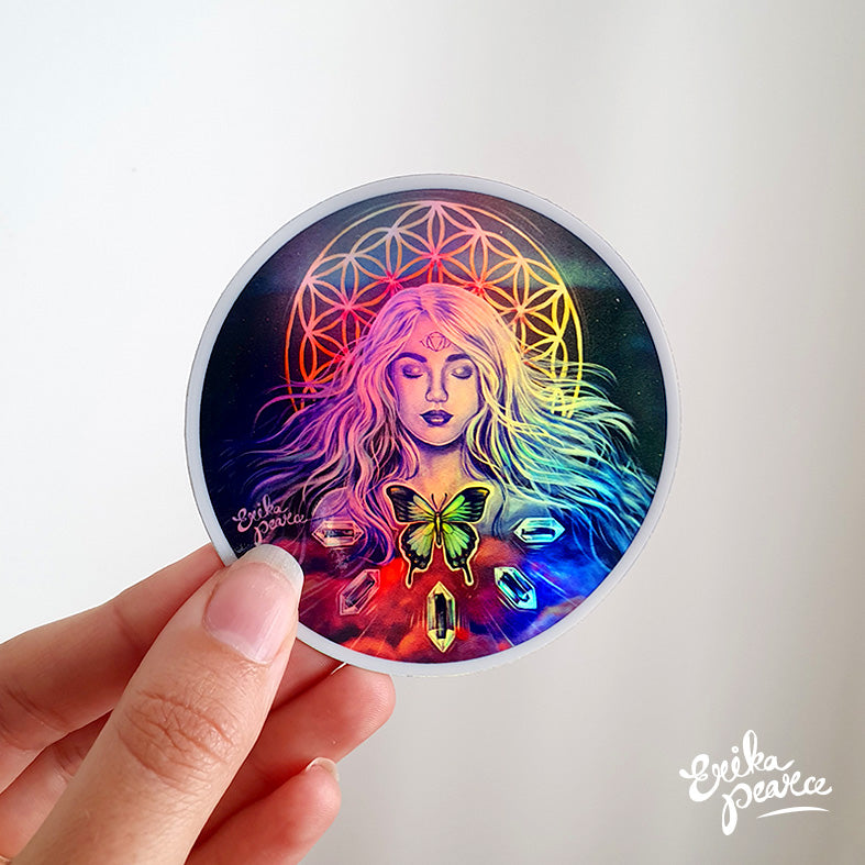 Holographic Sophia Sticker
