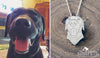 custom silhouPETte necklace (pet)