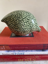 Load image into Gallery viewer, French ceramic quail Green & pale green