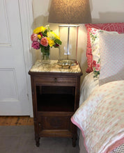 Load image into Gallery viewer, French Walnut bedside table