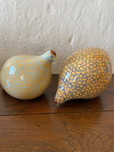 Load image into Gallery viewer, A pair of French ceramic quails