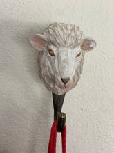 Load image into Gallery viewer, Wooden animal hook - sheep
