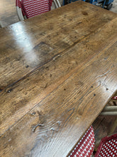 Load image into Gallery viewer, French oak Farmhouse table