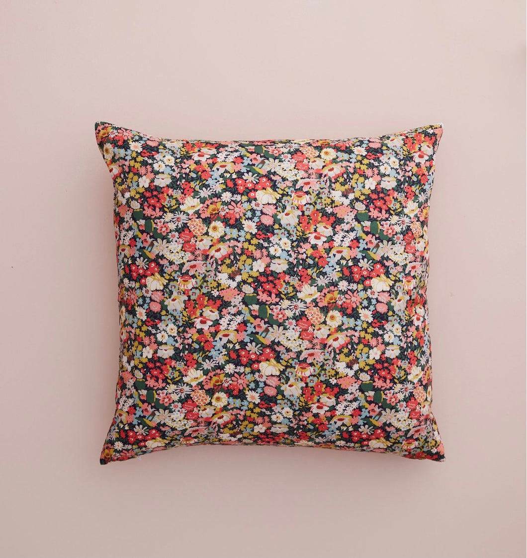 Evie Meadow Liberty Tana Lawn cushion