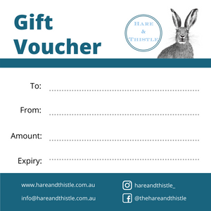 Hare & Thistle Gift Card