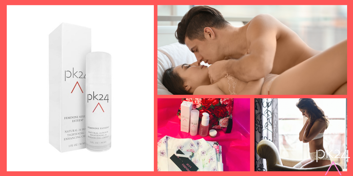 Our internationally renowned pk24 Intimate Tightening Cream