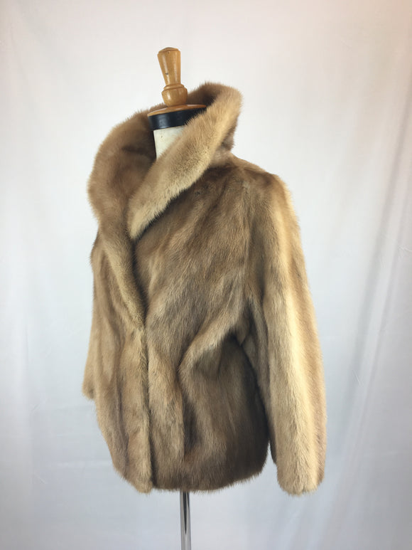 Autumn Haze Mink Evening Jacket