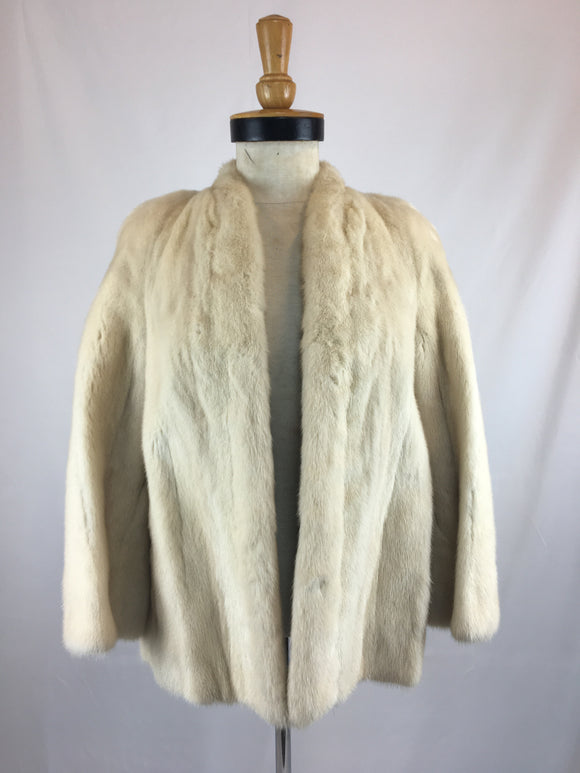 Stranded Natural 'Arcticus' EMBA Mink Jacket By Hippe Furs