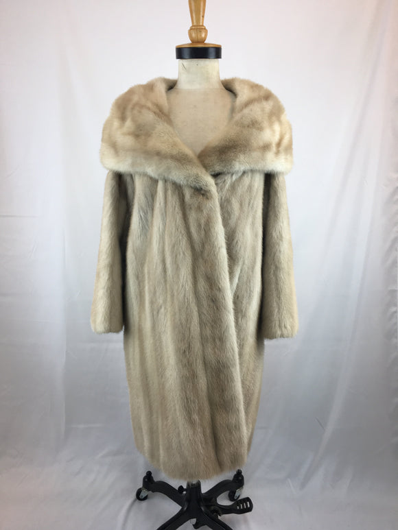 Morning Light Mink, Waltz Length Coat by Stephen Dattner