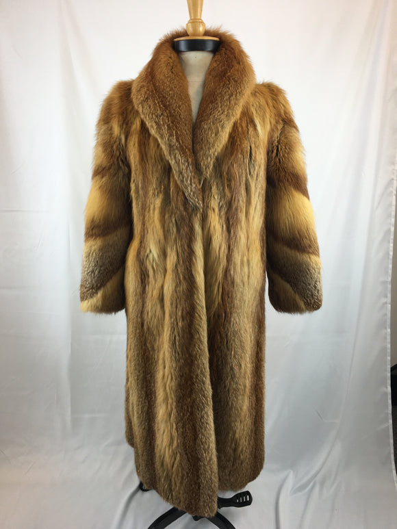 Fully Stranded Australian Redfox Coat by Eugines