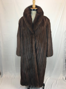 Fully Stranded and Dyed Russian Sable Coat by Cornelius Sydney