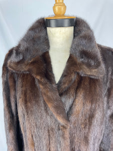 Fully Stranded Ranch Mink Coat By Lisal