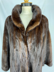 Fully Stranded Demi-Buff Mink Coat