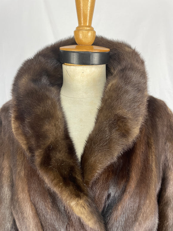 Natural Ranch Mink Jacket By Premier