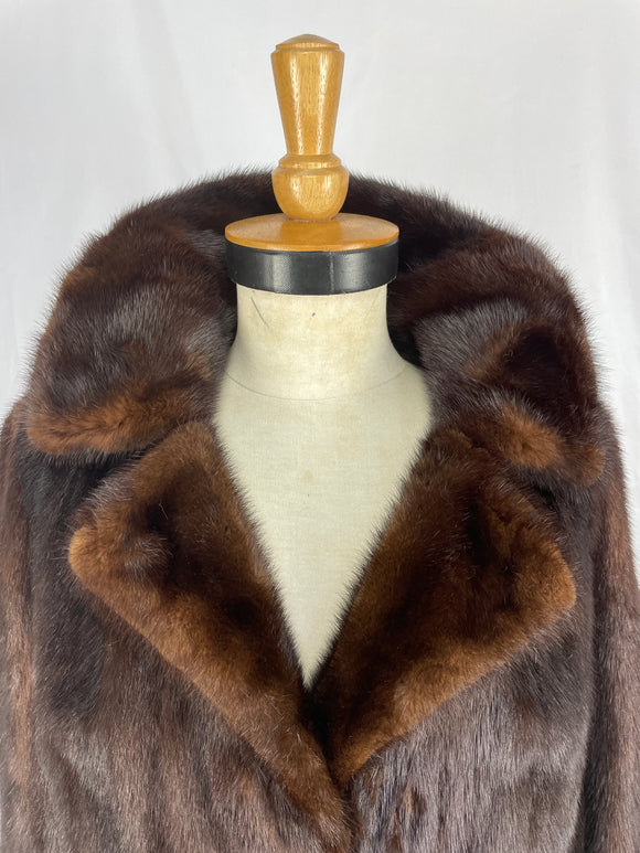 Stranded Natural Ranch Mink Jacket