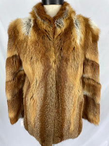 Natural Australian Red Fox Jacket by Cornelius