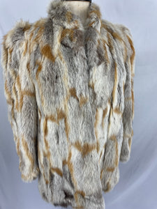 Natural Australian Fox Segment Jacket By Berkleys Of Burwood