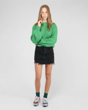 QUINN HI RISE MINI SKIRT / CULT