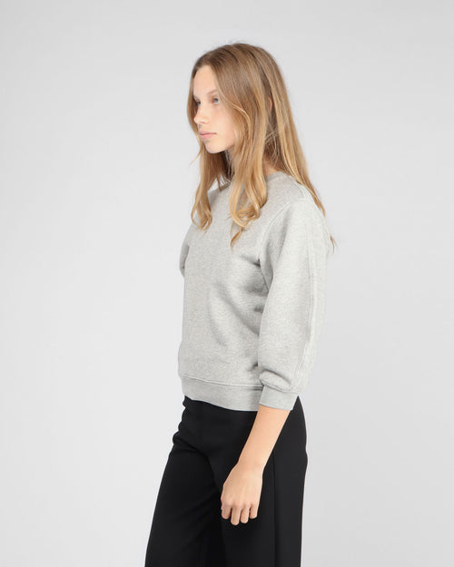 THORA SWEATSHIRT / GREY HEATHER