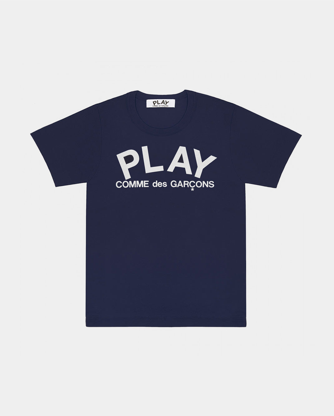 T-SHIRT T175 PLAY LOGO / NAVY