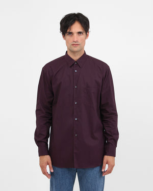 Regular Shirt S2PLA / burgundy