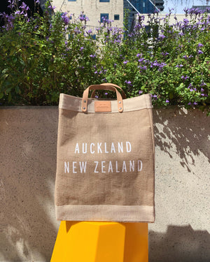 APOLIS + FABRIC Market Bag