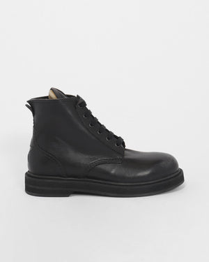 ELE LACEUP BOOT / BLACK