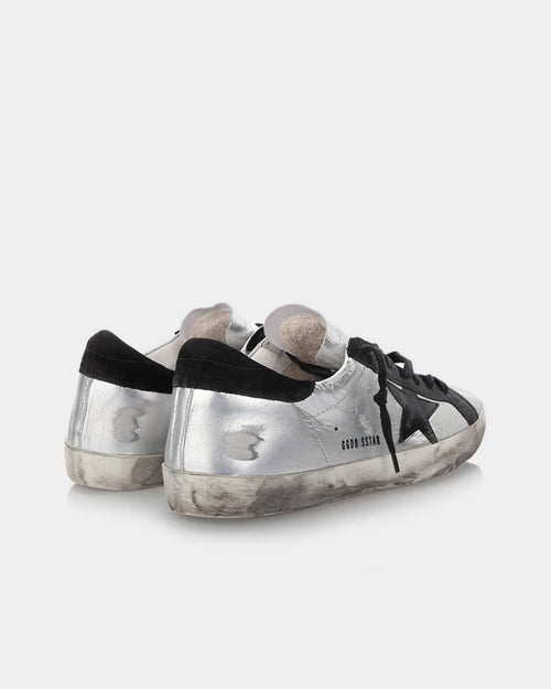 SUPERSTAR SNEAKER / SILVER BLACK