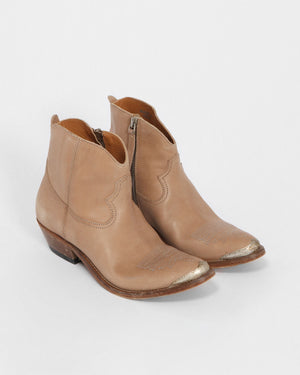 YOUNG BOOT / CORD BROWN