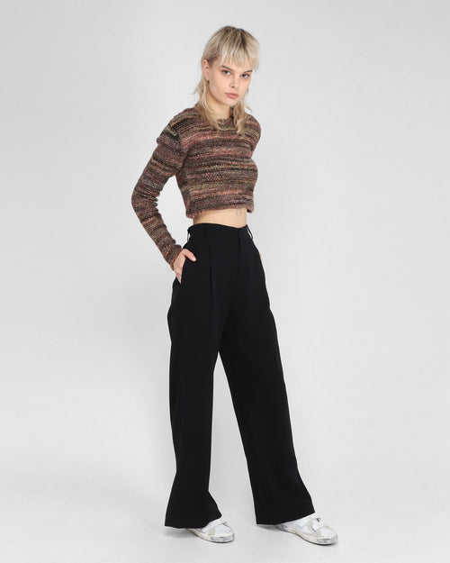 REAL TROUSER / BLACK