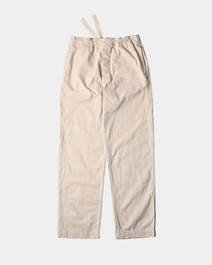 PULL UP TROUSER / NATURAL DENIM