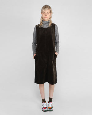 ROUND NECK DRESS / MOUSE CORD