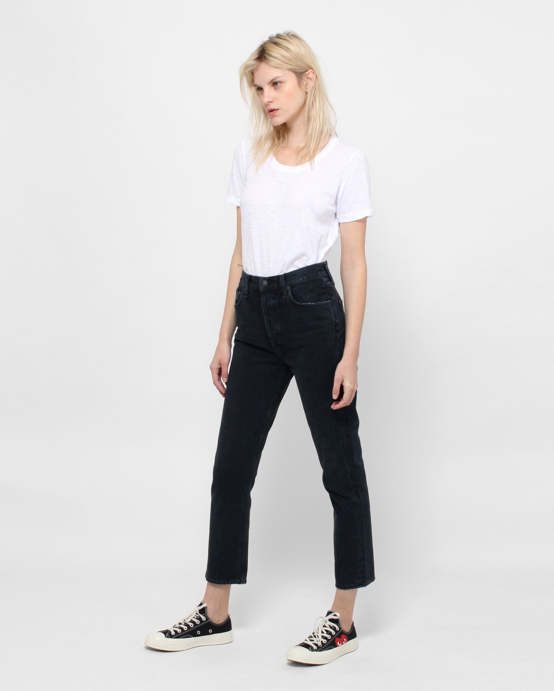 RILEY CROP HI RISE STRAIGHT / HIDEAWAY