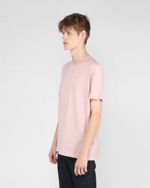 S/S CLASSIC CREW NECK T-SHIRT / DUSTY PINK
