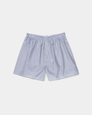 BOXER SHORT / NAVY STRIPE