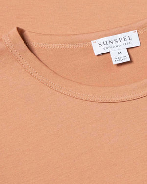 S/S CLASSIC CREW NECK T-SHIRT / CLAY