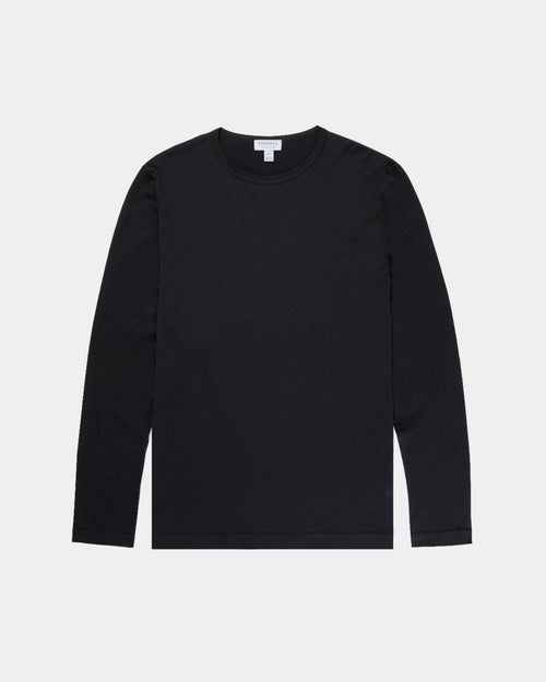 LONG SLEEVE T-SHIRT / BLACK