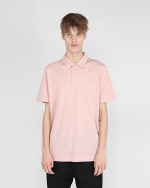 S/S RIVIERA POLO / DUSTY PINK