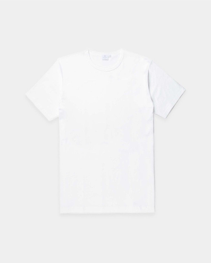 S/SCLASSIC CREW NECK T-SHIRT / WHITE