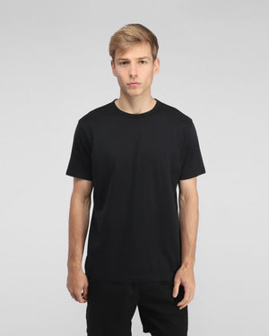 S/S CREW NECK T-SHIRT / BLACK
